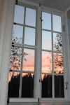 Fönster i TV-rummet