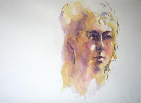 Anemie, portret