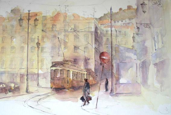 Tram 28, Lissabon