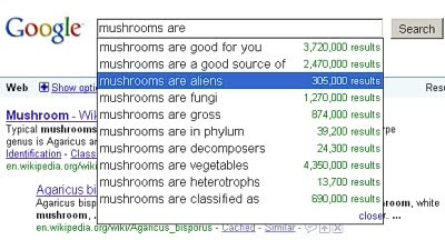 Mushrooms are Aliens