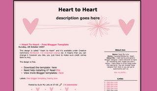 Redbloodsnow's Stuffs - Heart To Heart Template