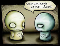 Redbloodsnow's Stuffs© - Cute Cartoon **Stop Looking At Me**