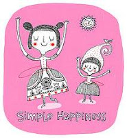 Redbloodsnow's Cute Cartoon Graphics© - Simple hapiness