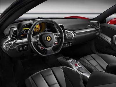 Ferrari 458 Italia interiores