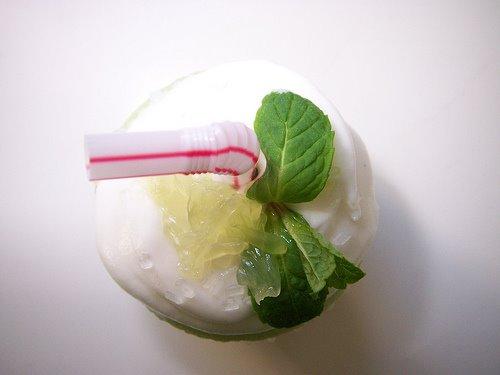Lettuce go Cupcake Postal