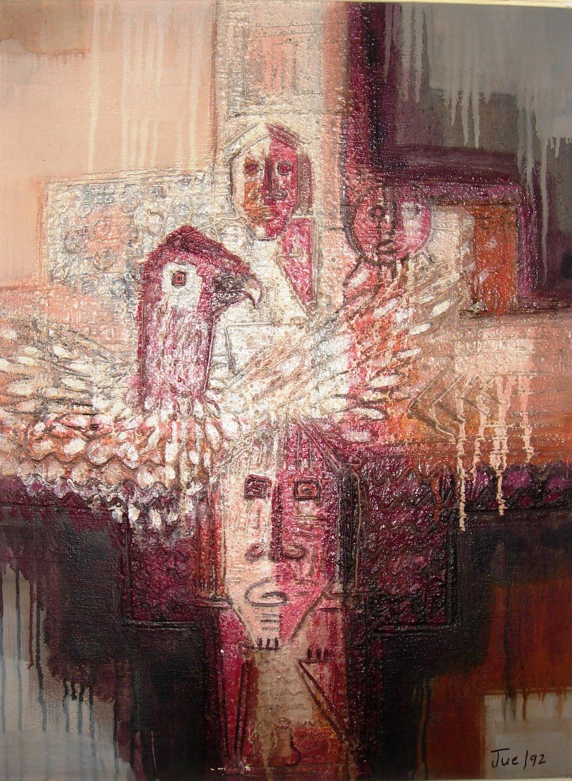 Carlos juez pintor colombiano for Pintor y muralista colombiano
