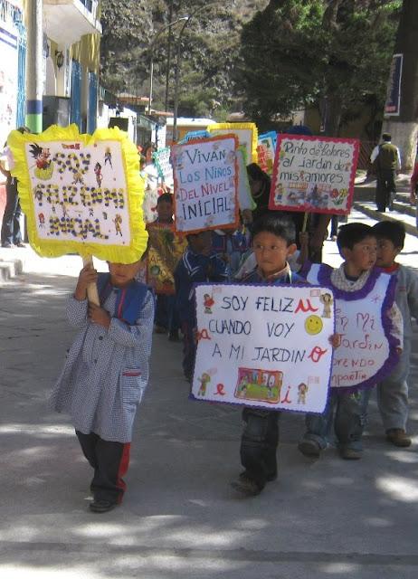 : Celebración del Día de la Educación Inicial en Matucana