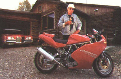 Hunter S. Thompson, Ducati 900ss-sp