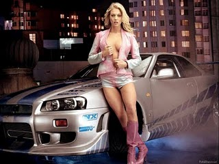 Sexy Car and Girl