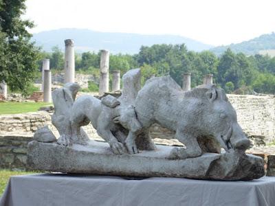 Ishrana u antičkom Rimu Trački+jahač
