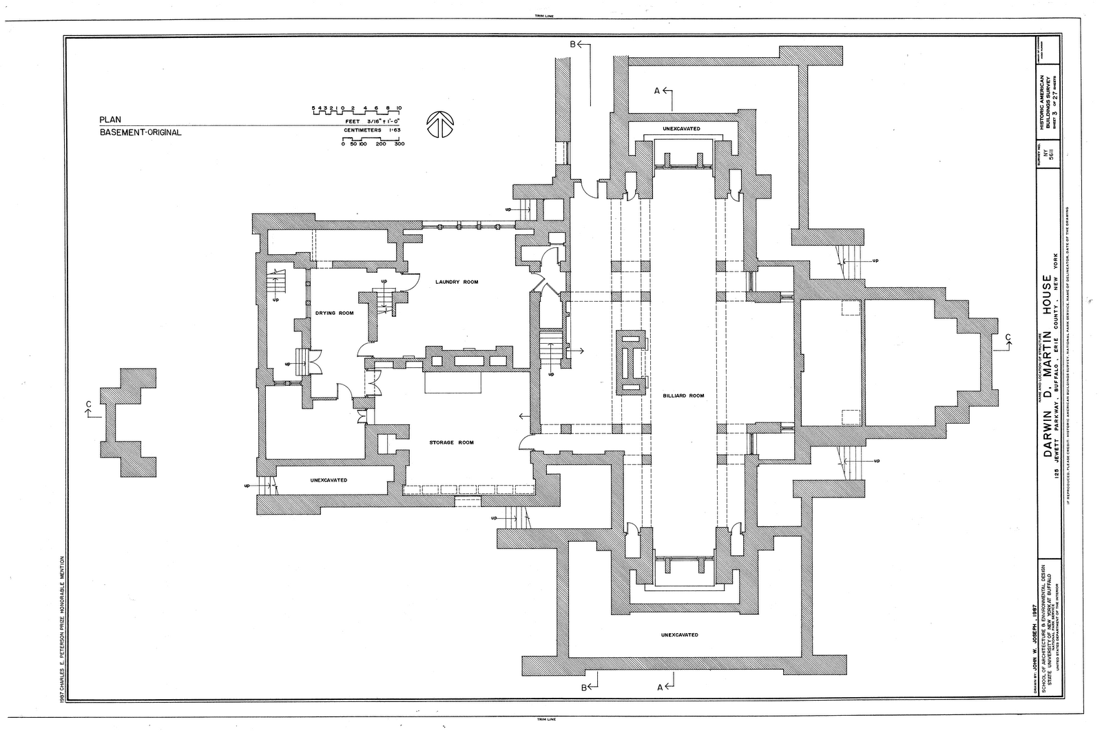 Darwin Martin House Plan House Design Plans