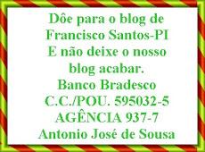 DÔE PARA O BLOG DE FRANCISCO SANTOS - PI