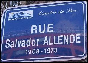 Salvador allende blog citoyen una calle salvador allende for Rue salvador allende poitiers