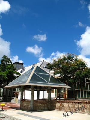 台南古蹟 吳園 公會堂