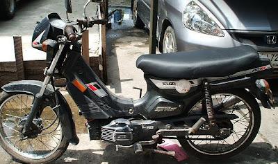 Nenek Moyangnya Satria FU 150,Suzuki RC 100