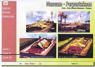 Rancangan Museum Masjid Raya Pekanbaru