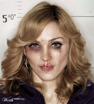 Madonna, Photoshopped Celebrity Mugshots