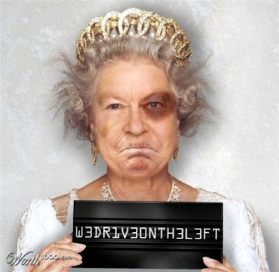 the-queen, Photoshopped Celebrity Mugshots