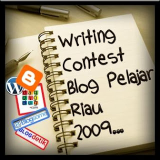 Writing Contest Blog Pelajar Riau 2009