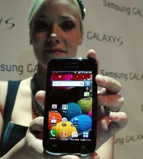 Samsung Galaxy S i9000 Harga dan Spesifikasi
