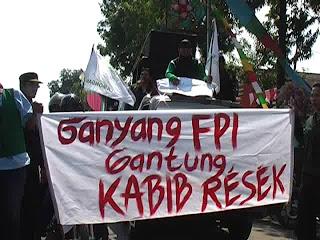 Front Pembela Islam (FPI), Di Fitnah Lagi