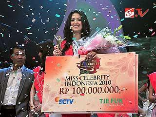 Juara, Pemenang Miss Celebrity 2010