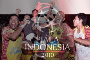 Sriwijaya FC Juara Piala Indonesia 2010