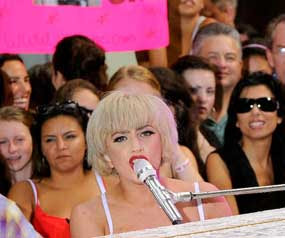 Lady Gaga to Make History at the MTV Awards