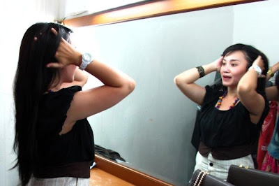 Foto Eksklusif Sinta & Jojo Waktu Latihan