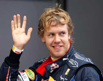 Gp Korea 2010 Vettel Grabs Pole
