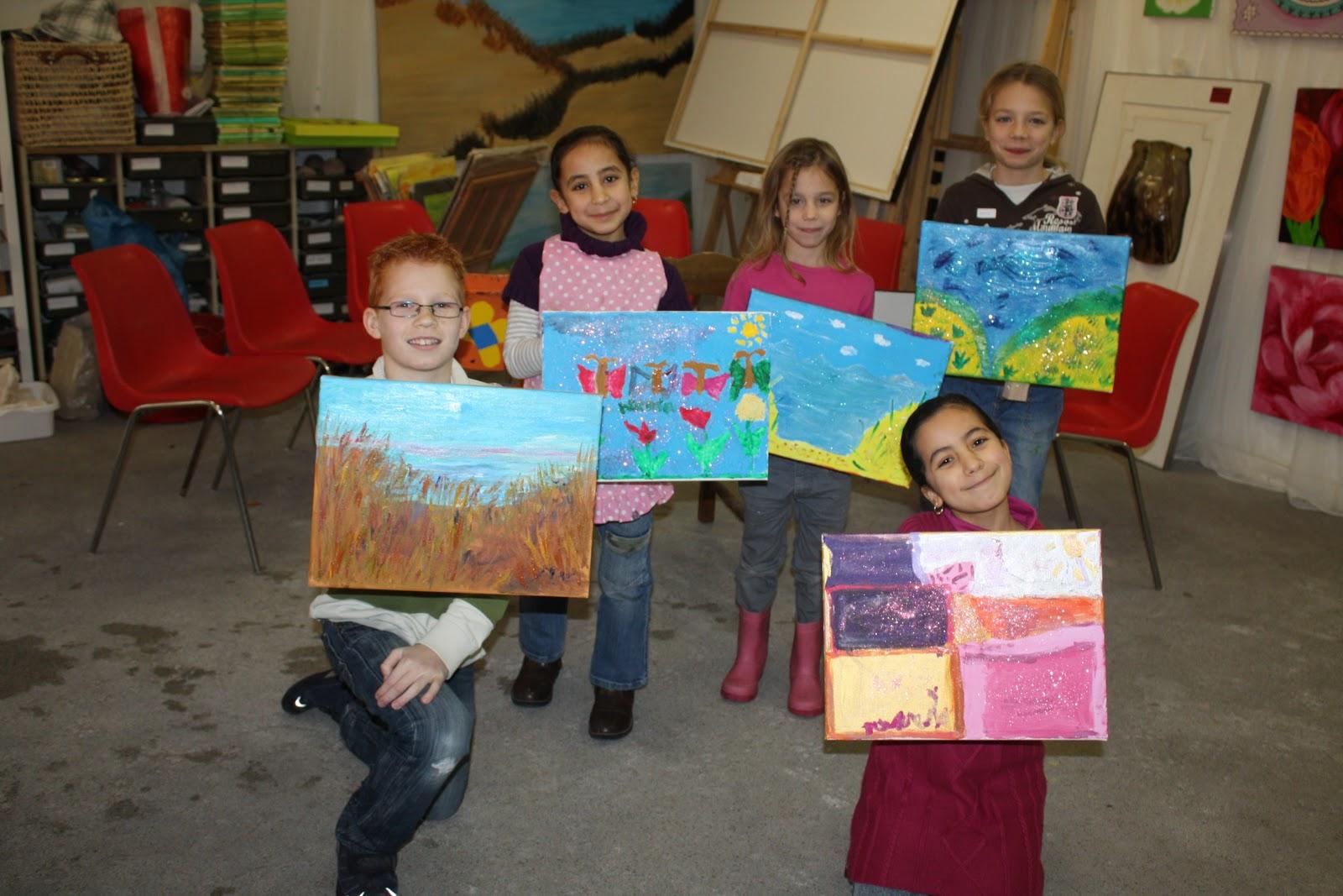 Simone van olst december 2010 - Kinder schilderij ...