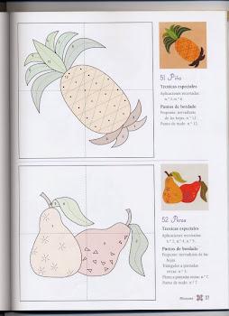 Modelos de frutas para patch.