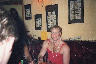 Roger in drag