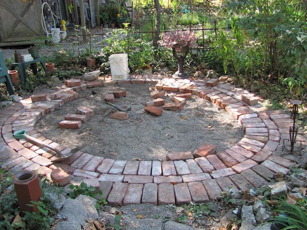 Circular Brick Patio Designs