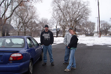 Brian, Nate, and Sarah