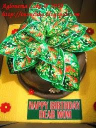 Aglonema Cake