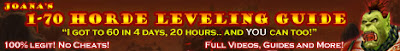 Joana's 1-70 Horde Leveling Guide - World of Warcraft
