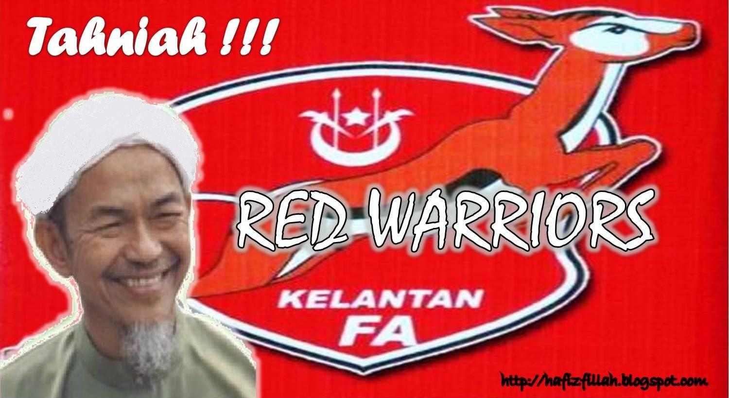 Tahniah Red Warriors, GOMO KLATE GOMO!!!