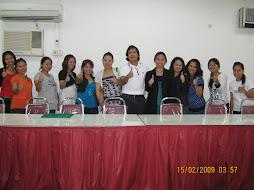 koleksi gambar bekas-bekas peserta kursus anjuran excellence