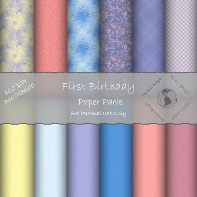 http://madlindesigns.blogspot.com/2009/07/freebie-first-birthday-paper-pack.html