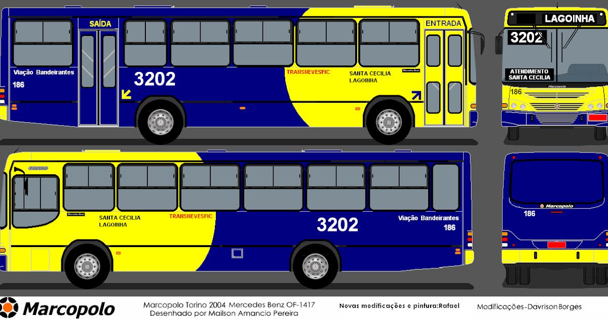 Via 231 227 O Bandeirantes Ltda Linha 3202 Santa Cecilia