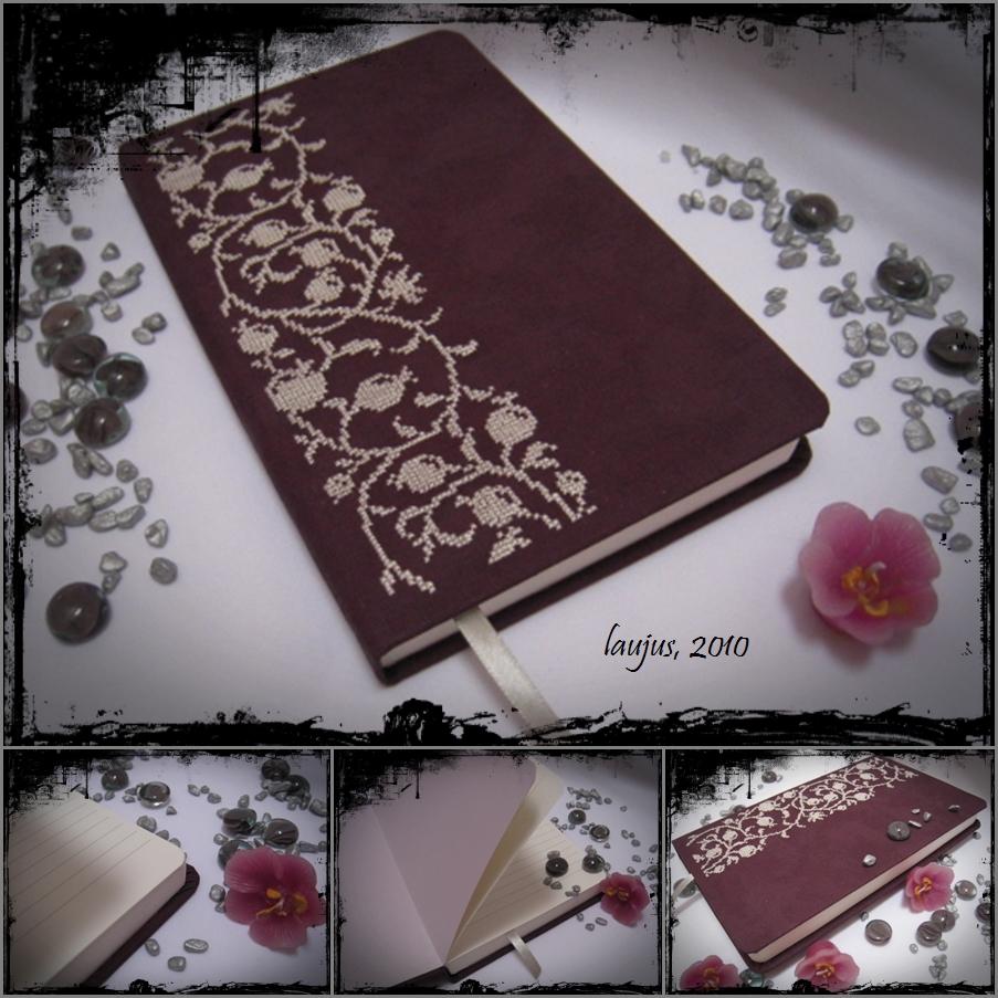 Mano pamokėlė, kaip apvilkti užrašinę / Notebook Tutorial