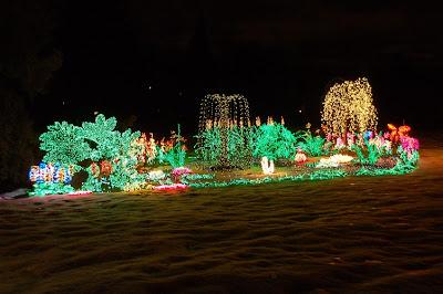 holiday bellevues garden dlights - Bellevue Christmas Lights