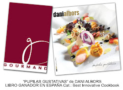 PUPILAS GUSTATIVAS nuevo libro de Dani Albors