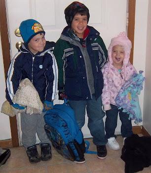Kaleb, Andre and Ellie