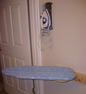 DIY Wall Mounted Ironing Board A Little Tipsy