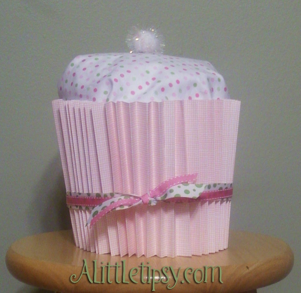 Baby Shower Cupcake Gift Ideas : Baby Shower Cupcake Gift - A Little Tipsy