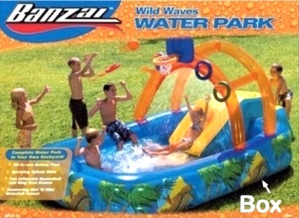 Banzai Wild Waves Water Park - a promise of summer fun