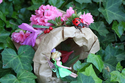 Paper Bag Fairy/Bug Houses