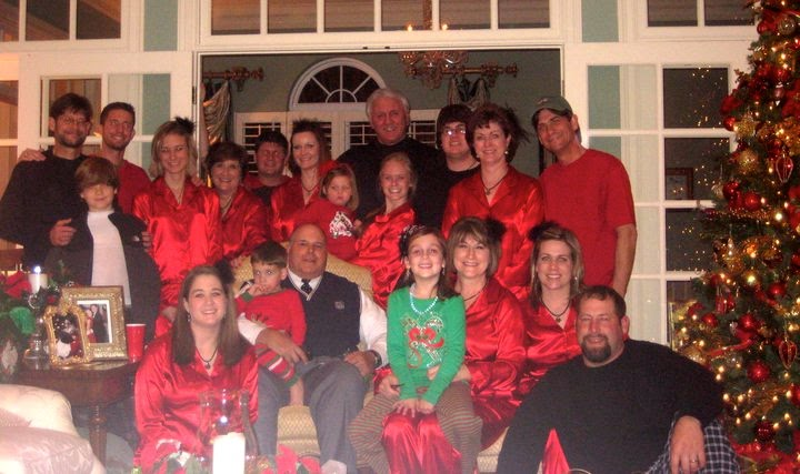 scout update family christmas eve pajama party